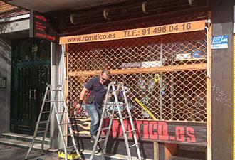 Reparación de cierres